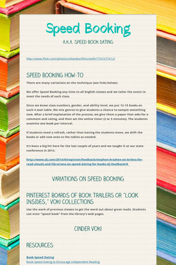 Speed Booking