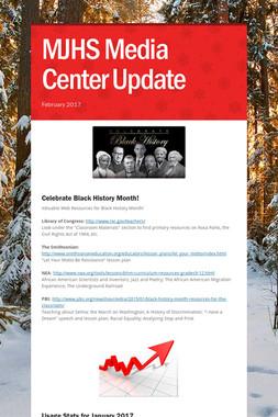 MJHS Media Center Update
