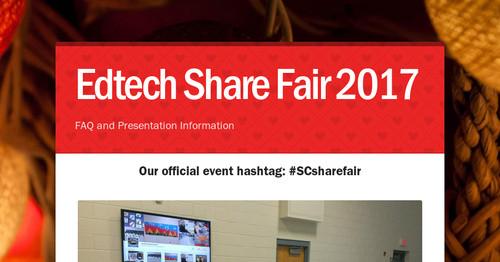 Thumbnail for Edtech Share Fair 2017