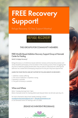 FREE Recovery Support!
