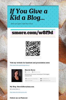 If You Give a Kid a Blog...