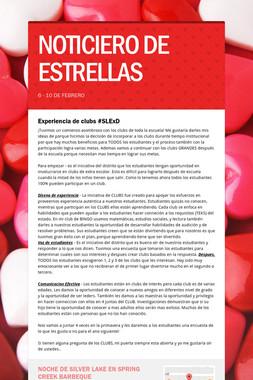 NOTICIERO DE ESTRELLAS
