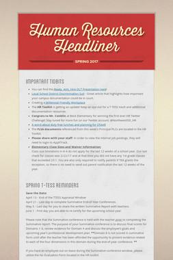 Human Resources Headliner