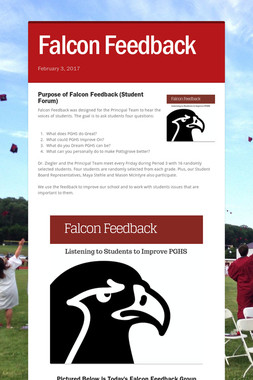 Falcon Feedback
