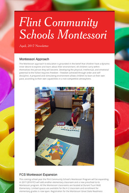 Flint Community Schools Montessori