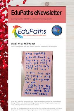 EduPaths eNewsletter