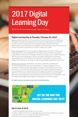 2017 Digital Learning Day