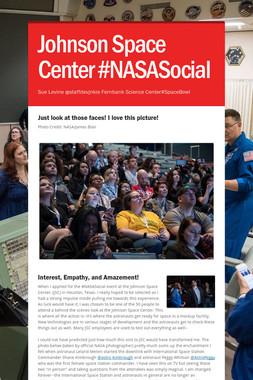 Johnson Space Center #NASASocial