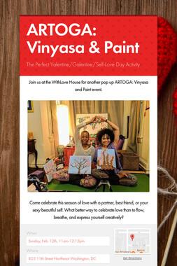 ARTOGA: Vinyasa & Paint