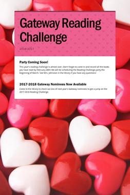 Gateway Reading Challenge