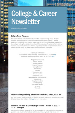 College & Career Newsletter