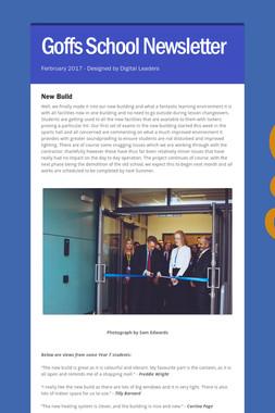 Goffs School Newsletter
