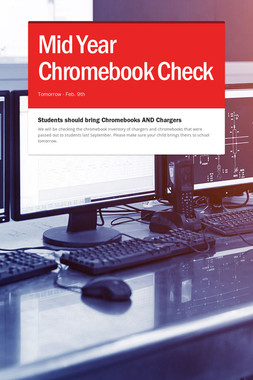 Mid Year Chromebook Check