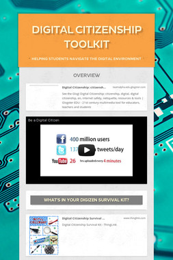 Digital Citizenship Toolkit