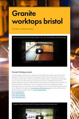 Granite worktops bristol
