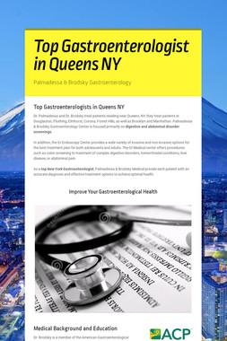 Top Gastroenterologist in Queens NY