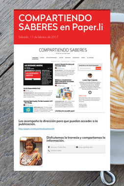 COMPARTIENDO SABERES en Paper.li