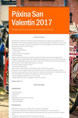 Páxina San Valentín 2017