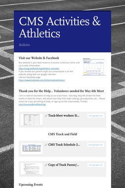 CMS Activities & Athletics