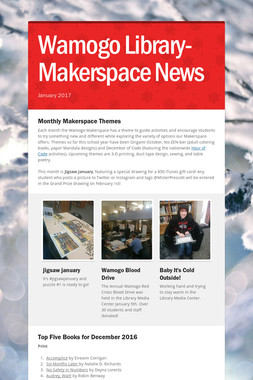 Wamogo Library-Makerspace News