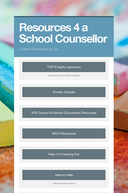 Resources 4 a  School Counsellor