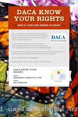 DACA Know Your Rights