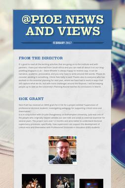 @PIoE News and views
