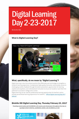 Digital Learning Day 2-23-2017