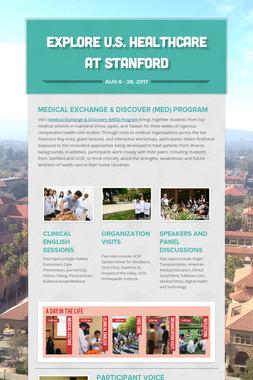 Explore U.S. Healthcare at Stanford