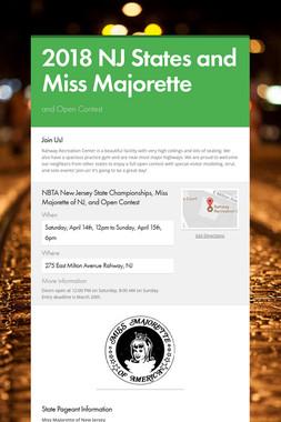 2018 NJ States and Miss Majorette