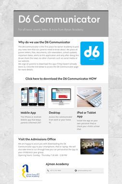 D6 Communicator