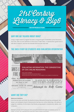 21st Century Literacy & Big6