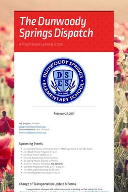 The Dunwoody Springs Dispatch