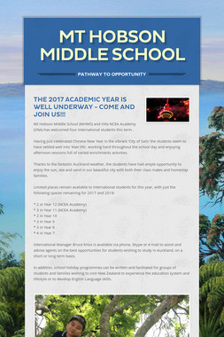 Mt Hobson Middle School