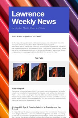 Lawrence Weekly News