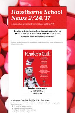 Hawthorne School News 2/24/17