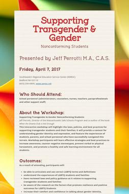 Supporting Transgender & Gender