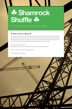 ☘ Shamrock Shuffle ☘