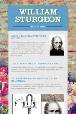 William Sturgeon