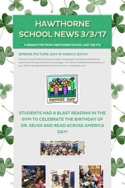 Hawthorne School News 3/3/17