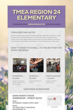 TMEA Region 24 Elementary