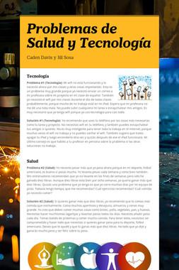 Problemas de Salud y Tecnología