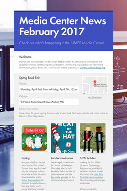 Media Center News February 2017