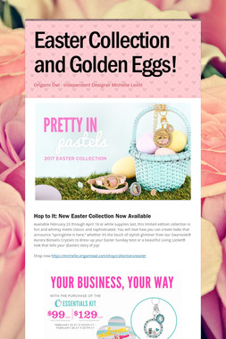 Easter Collection and Golden Eggs!