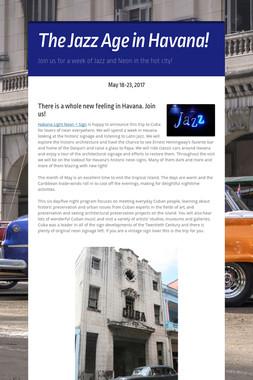The Jazz Age in Havana!