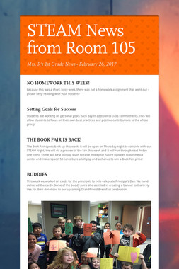 STEAM News from Room 105