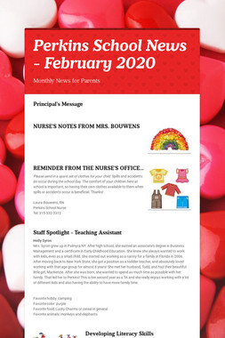 Perkins School News - February 2020