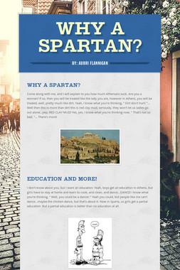 Why a Spartan?