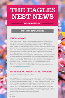 The Eagles Nest News