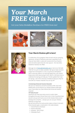 Your March FREE Gift is here!